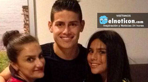 Madre de James Rodríguez denuncia amenazas contra su hijo ¡Reprochamos estos actos!