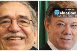 Los dos visionarios que desearon la PAZ para Colombia, uno en la literatura y el otro en la política