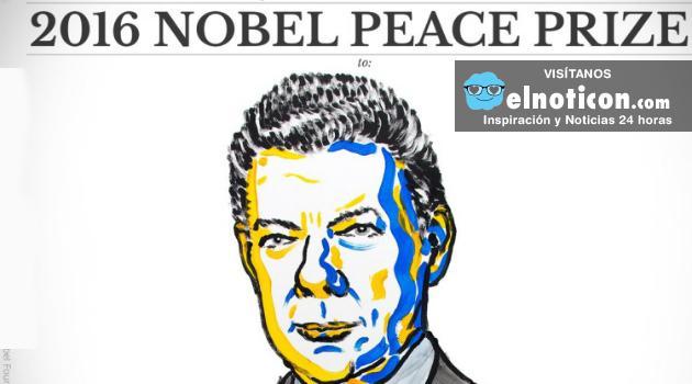 El Presidente Juan Manuel Santos gana el Premio Nobel de la Paz ¡Histórico!