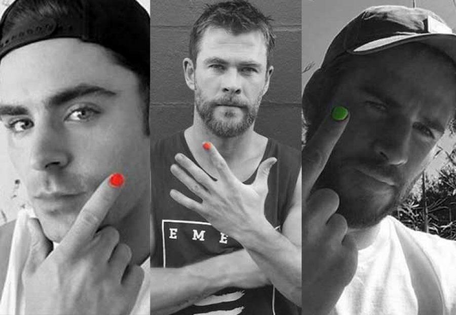Liam Hemsworth, Zac Efron y otros famosos, se pintan la uñas por esta razón