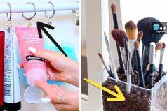 Ideas geniales para almacenar tus cosméticos