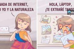 Ilustraciones que todo aquel que ama viajar entenderá