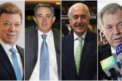 Hoy es la reunión clave entre Santos, Uribe, Pastrana y Ordoñez en la Casa de Nariño