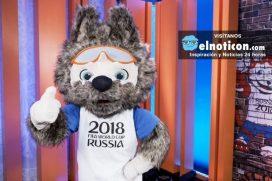 ¿Te gustó la mascota oficial del mundial de Rusia-2018?