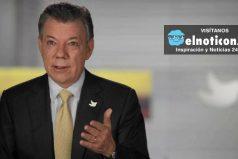 """""""Cese al fuego bilateral se prorroga hasta el 31 de diciembre"""": Santos"""