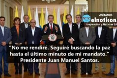 Este fue el mensaje que le envió el Presidente Santos a toda Colombia