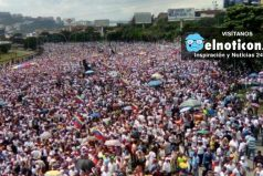 Los incidentes que ocurrieron en la 'toma de Venezuela', la marcha opositora
