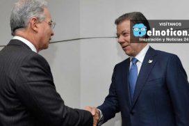 El mensaje de Álvaro Uribe a Juan Manuel Santos por el Premio Nobel