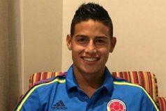 La imagen que muestra el gran amor de James Rodríguez por la Selección Colombia
