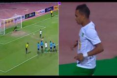 ¿Y dónde está el goleador? Así reaccionó este futbolista después de fallar un penal. ¡No lo podrás creer!