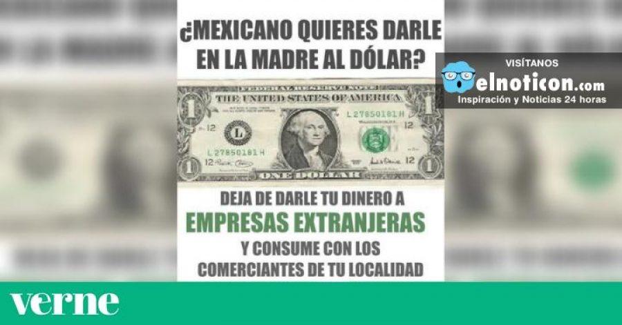 Varias cadenas de mensajes promueven comprar solo productos mexicanos en protesta contra Trump