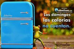 Los domingos las calorías no cuentan