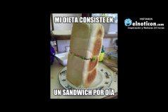 En esto consiste mi dieta…