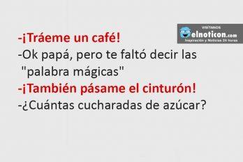 ¡Tráeme un café!