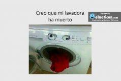 Creo que mi lavadora ha muerto