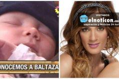 Paula Chaves presentó en sociedad a Baltazar
