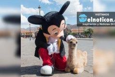 Mickey Mouse celebra su cumpleaños 88 visitando Cusco