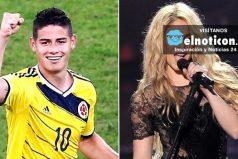 La familia de James enloquece con la bicicleta de Shakira y Vives
