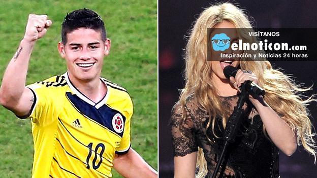 James y Shakira
