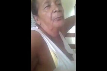 Esta abuelita no puede decir 'chocolate' ni 'Facebook' ¡Qué mujer tan divertida!