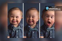 Bebé con Síndrome de Down rompe estereotipos ¡y se convierte en modelo de ropa infantil!