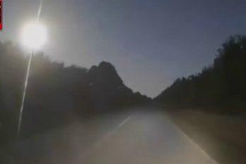 Policía de North Port logra grabar 'bola de fuego' que cae en Florida. ¿Será un meteorito?
