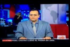 No te pierdas el lapsus de este periodista al anunciar la muerte de Fidel Castro. ¡'Trágame tierra'!
