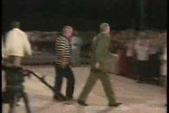 La caída de Fidel Castro, el video más visto del líder cubano. ¿Lo recuerdas?