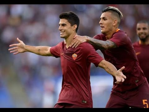 Diego-Perotti-Rabona-Goal-AS-Roma-vs-Viktoria-Plzeň-4-1-✓-Highlights-Extended
