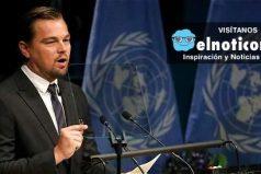 DiCaprio, el actor que sigue dando la pelea contra el cambio climático