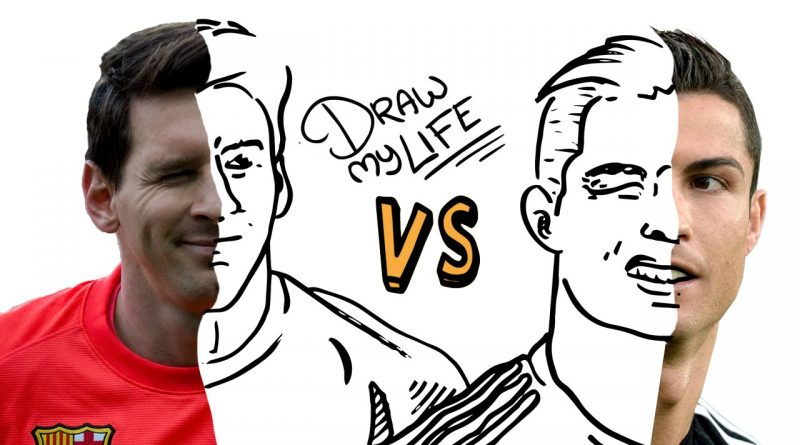 MESSI-vs-CRISTIANO-Draw-My-Life-En-Español