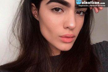 Una modelo brilla en Instagram gracias a sus cejas