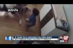 ¡Impresionante! Un niño de 9 años salvó a su hermanito que cayó del cambiador de pañales