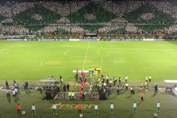 El recibimiento de su hinchada a Nacional en las 'semis' de la Sudamericana. ¡Así se apoya a un campeón!