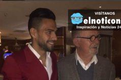 Mira el regalo que le hizo el maestro Fernando Botero a Falcao García