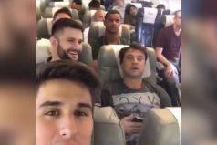 ¡Conmovedor! El video que Filipe Machado, jugador del Chapecoense, compartió en redes sociales antes de despegar hacia Medellín