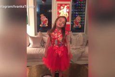 La nieta de Donald Trump recita un poema en mandarín y se hace viral. ¿La nombrará embajadora en China?