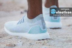Venden zapatillas hechas con plásticos recolectados del océano ¡Una gran idea para salvar el planeta!