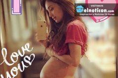 Anahí presume —al natural— cómo va su embarazo