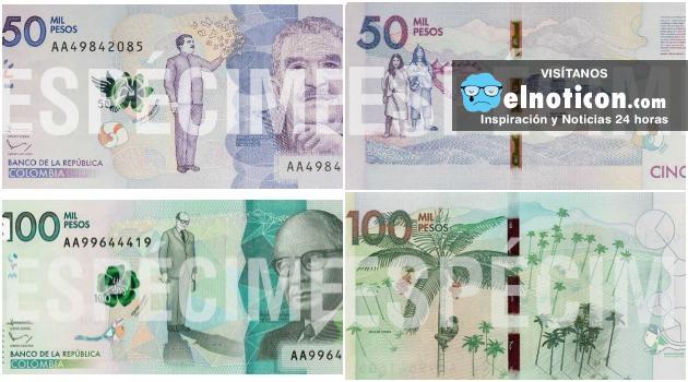 Ya están falsificando los nuevos billetes de cincuenta y cien mil pesos