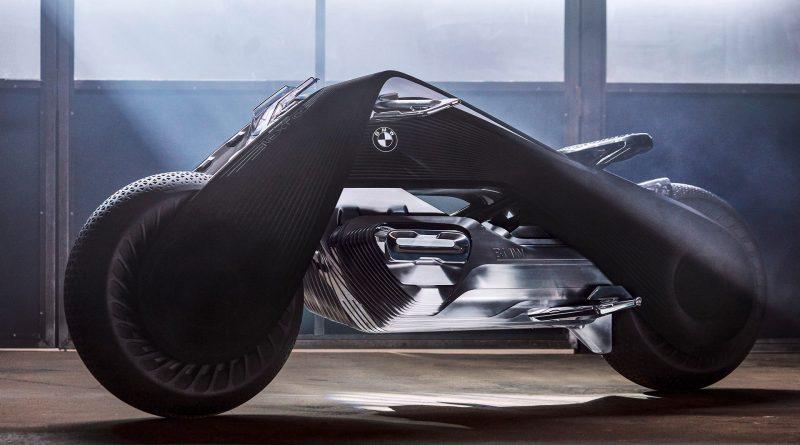 BMW presenta la moto del futuro, no necesita casco y no contamina el planeta