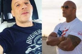 'La Roca' habla de su pelea con Vin Diesel