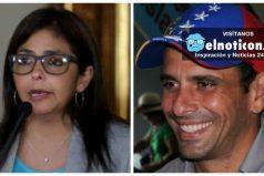 Cancillería de Venezuela denunció ante la Fiscalía al gobernador Henrique Capriles por falsificación en documentos