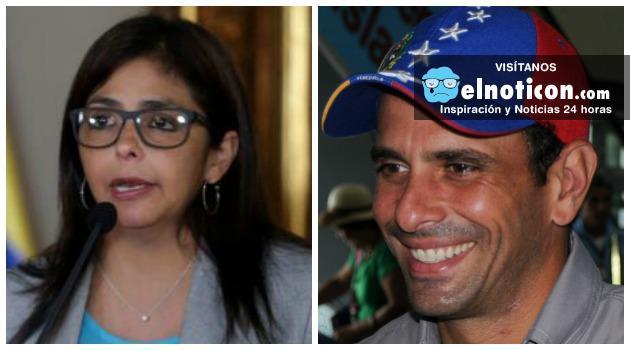 Cancillería de Venezuela denunció ante la Fiscalía al gobernador Enrique Capriles por falsificación en documentos