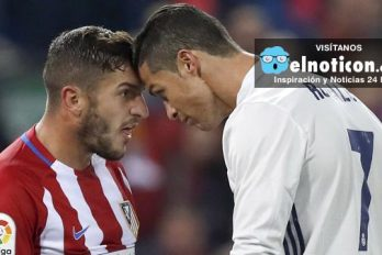 Cristiano Ronaldo se cruzó con Koke y dejó una frase de la que habla todo Madrid
