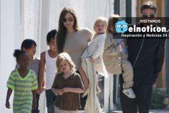 Angelina Jolie le ganó la custodia de sus hijos a Brad Pitt