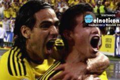 James Rodríguez y Falcao García, juntos nuevamente en la Selección
