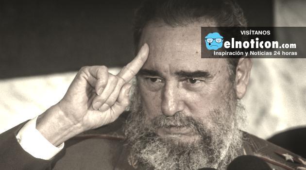 Fidel Castro le dice adiós a la revolución cubana.