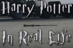Así es cómo sería el mundo de Harry Potter en la vida real