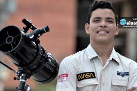"""El joven colombiano que irá a la NASA y no es tan famoso como """"Epa Colombia"""""""